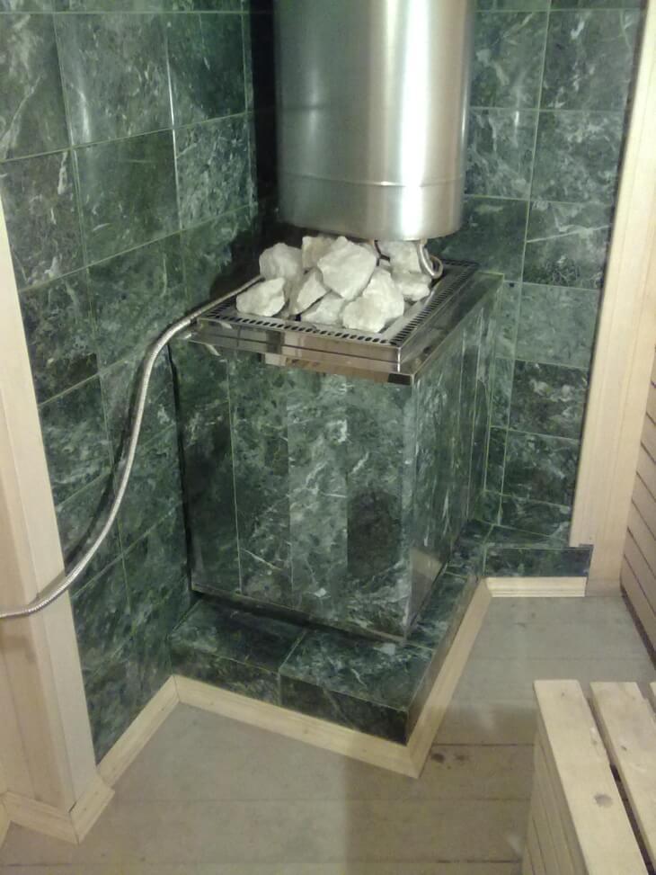 Керамическая плитка выдерживает высокие температуры