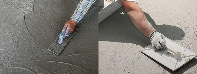 железнение цементных покрытий это